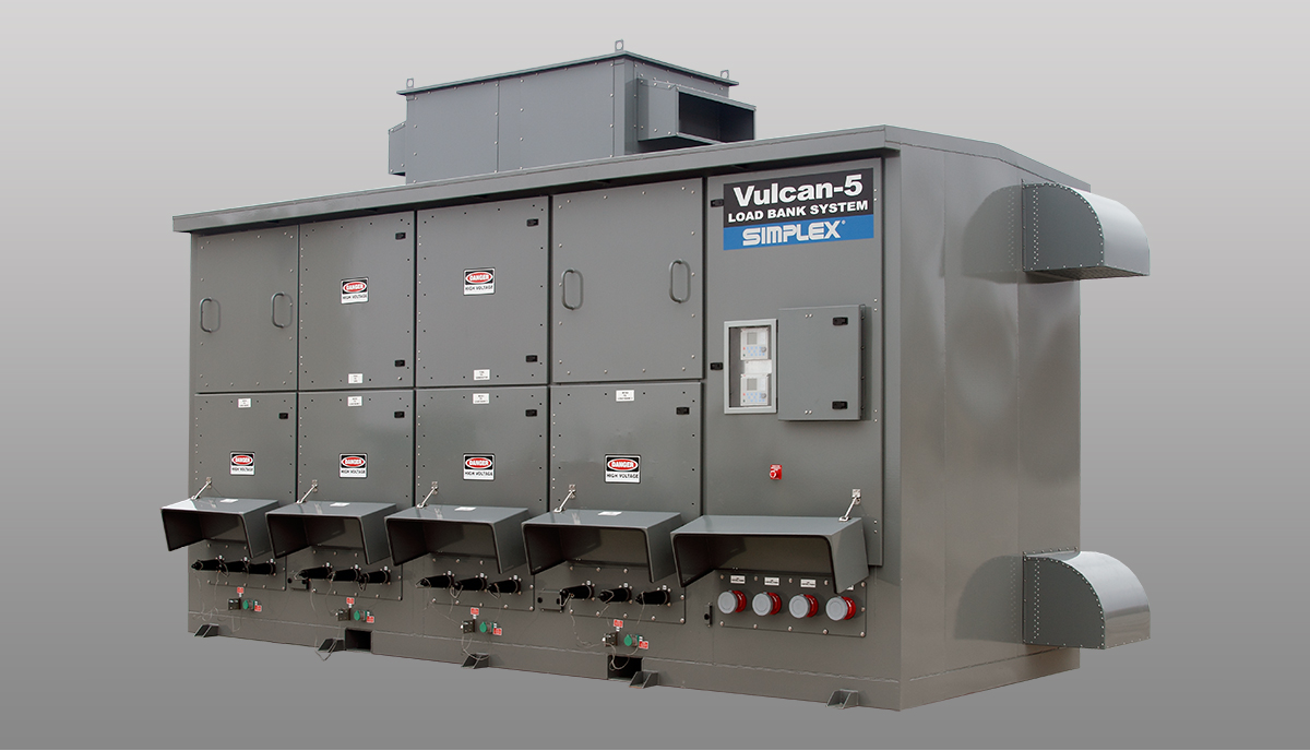 Load Bank Systems : Vulcan-5