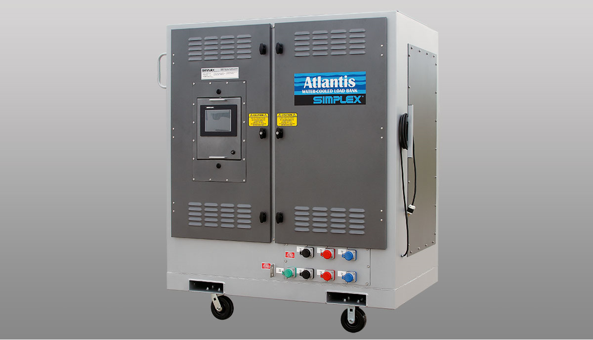 Simplex Load Banks Water Cooled Lbw Wiring Fused Spur Supply