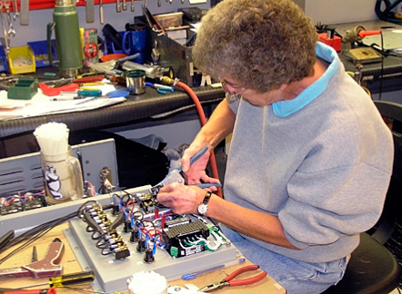 Simplex products are hand-wired in our factory by skilled technicians.