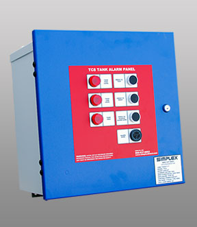 Simplex Fuel Systems - Control and Monitoring - TC-8 Tank Alarm Panel