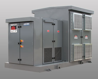 Simplex Load Banks - Mars-HV Stationary Load Bank