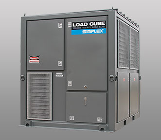 Simplex Load Banks - Load Cube Large Portable Load Bank